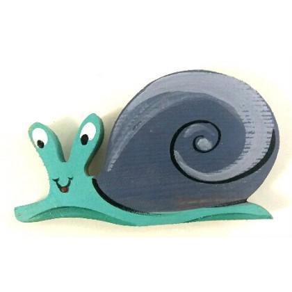 Μαγνητάκι σαλιγκάρι ζωγραφιστό