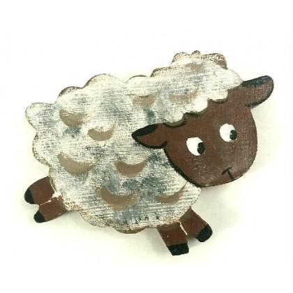 Μαγνητάκι πρόβατο ζωγραφιστό