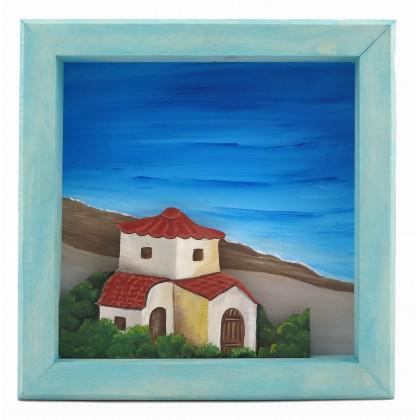 Πίνακας Εκκλησία στην Ακτή