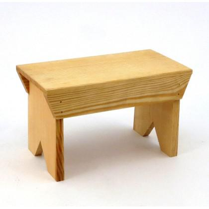 Σκαμνί Μικρό Με Μεγάλο Κάθισμα.