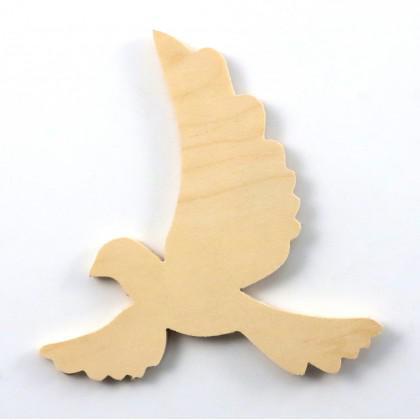 Στοιχείο περιστέρι ανοιχτά φτερά