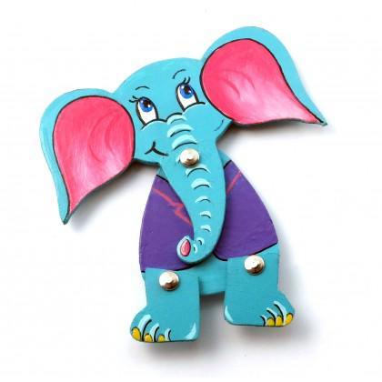 Ελέφαντας με πριτσίνια.