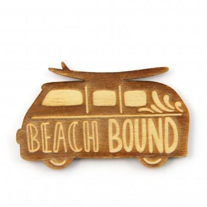 Στοιχείο Beach Bound με χάραξη.