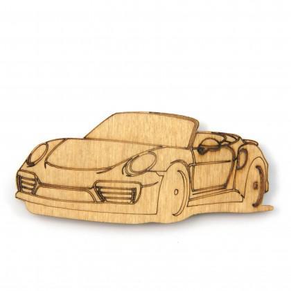 Στοιχείο Porsche με χάραξη.