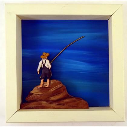 Πίνακας Ψάρεμα στον Εύδηλο