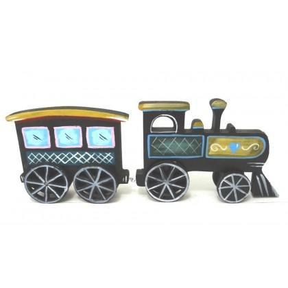 Τρένο μεγάλο με ένα βαγόνι
