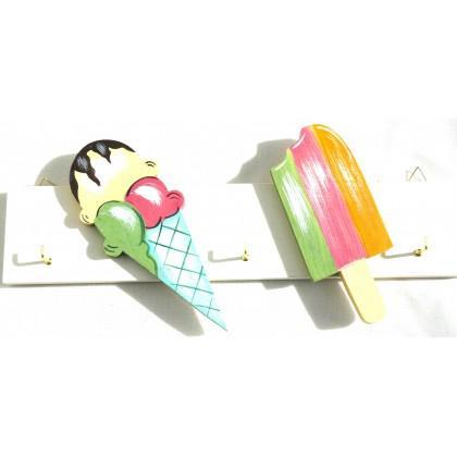 Κλειδοθήκη παγωτό